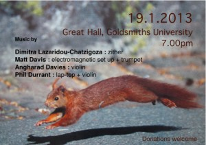 Goldsmiths Concert 19.1.13-2
